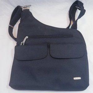 Travelon Anti-Theft Cross-Body Bag, Black  Locking